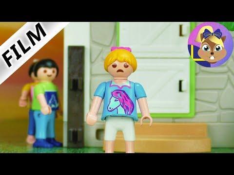 Playmobil film: mobbning på ridlägret! Vem har saboterat för Hannah?
