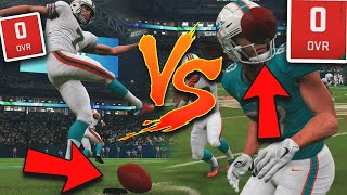 0 OVERALL TEAM VS. 0 OVERALL TEAM! Madden 20 Funny Challenge