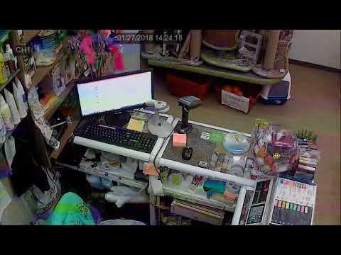 У продавца украли кошелек из-за прилавка