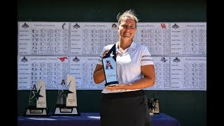 2019 American Women's Golf Championship Interview - Houston Senior Leonie Harm
