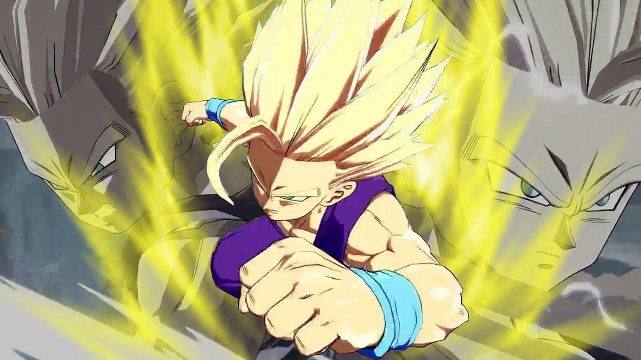 Goku vs teen gohan sorry but