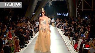 MEL AHYAR 4th Arab Fashion Week Ready Couture & Resort 2018   Fashion Channel