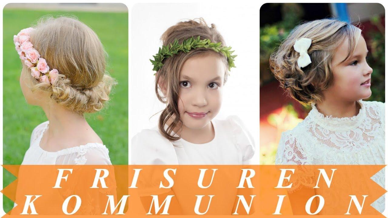 Schöne Frisuren Erstkommunion 2018 YouTube
