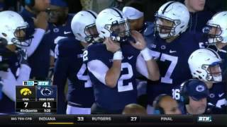 Iowa at Penn State - Football Highlights