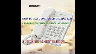 PANASONIC KX -T2371MXW LANDLINE TELEPHONE review by linestelecom