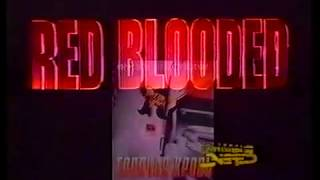 Горячая кровь (Безжалостная попутчица) / Red Blooded (1996) VHS трейлер (перевод Ю.Сербин)