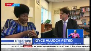 Former ICC Judge Aluoch makes history, becomes first African to scoop Fletcher Awards