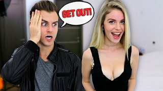 STUFFING MY BRA To See How My BOYFRIEND Reacts!