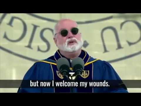 Greg Boyle - Motivational Speech Change The World | University of Notre Dame