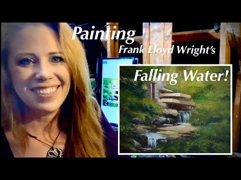 painting-falling-water!