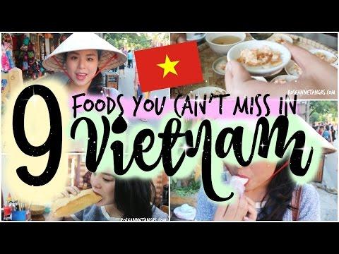 9 Foods You Can't Miss in Vietnam! | Singaporean Tasting Vietnamese Food | roseannetangrs