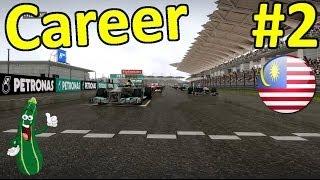 F1 2013 Career Mode Part 2: Malaysia (HRT CC)