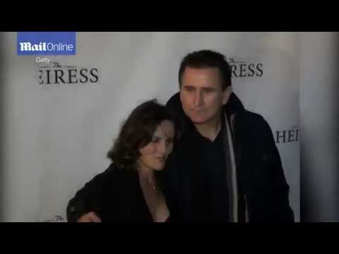In happier times  Anthony LaPaglia and now ex wife Gia Carides