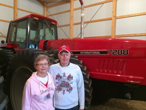 Amazing IHC Tractor Collection of Jerry Kuster in Galva, Ill