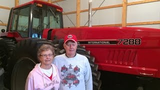 Amazing IHC Tractor Collection of Jerry Kuster in Galva, Illinois