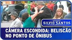 Câmera Escondida: Beliscão no Ponto de Ônibus