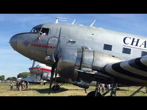 Coupure moteur DC3_Paris Air Legend 2018