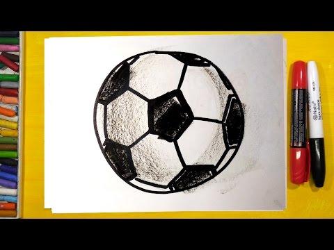 Как нарисовать мячи