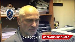 Cледственные действия с обвиняемым в убийстве женщины в Москве