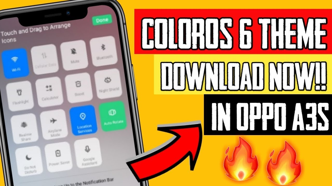 Oppo A3s Color OS 6 | Color OS theme on Oppo A3s | Use Color OS on Oppo A3s