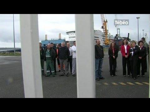 La Situation Reste Bloquée Chez Brittany Ferries (Brest)