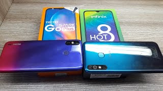 Tecno Spark Go Plus vs Infinix Hot 8 - Which Should You Buy ?