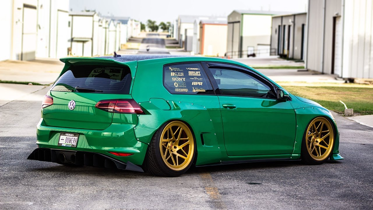 vw golf 7 gti rocket bunny widebody tuning project youtube. Black Bedroom Furniture Sets. Home Design Ideas