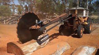 Dangerous Biggest Wood Sawmill Machine Working - Extreme Fast Wood Processor Cutting Big Log Easy