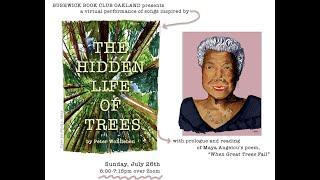 Bushwick Book Club Oakland Virtual Performance 7/26/20 - The Hidden Life of Trees
