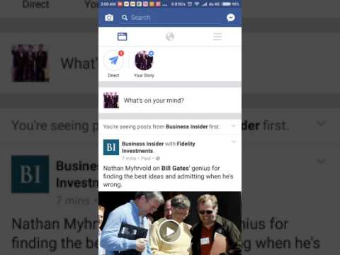 How to share a video from Facebook to WhatsApp