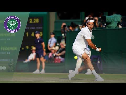 Roger Federer Vs Kei Nishikori Wimbledon 2019 Quarter-final Highlights