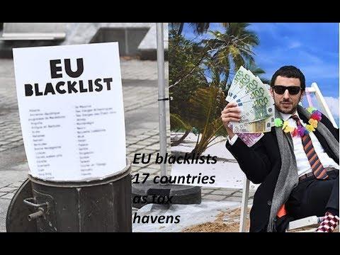 EU blacklists 17 countries as tax havens