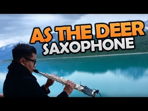 AS THE DEER (COMO EL SIERVO) - Uriel Vega | Sax Instrumental Music | Christian Sax Music