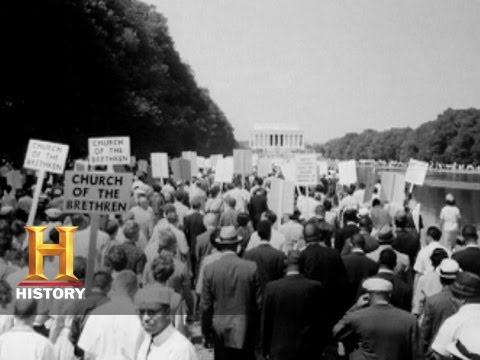 History Specials: King Leads the March on Washington | Histo
