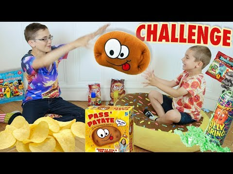 CHALLENGE PASS'PATATE - Surprises, Chips & Streamers! - Board game