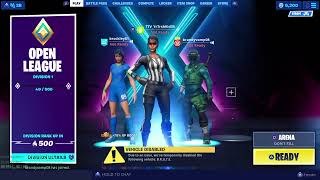 Fortnite LIVE: trying to get wins LOL 'new account'