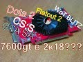 GeForce 7600GT 256 Mbit в 2К18 CSS DOTA 2 Flatout 2 GTA SA WoT Blitz mp3
