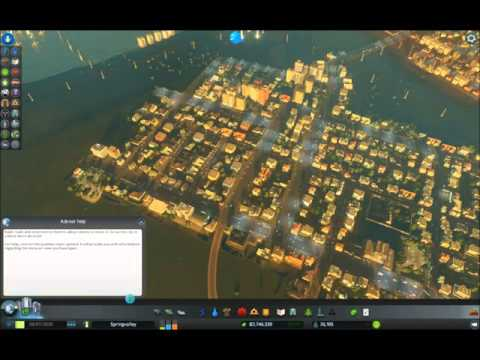 ASMR: Playing Cities: Skylines (whispering/gum)