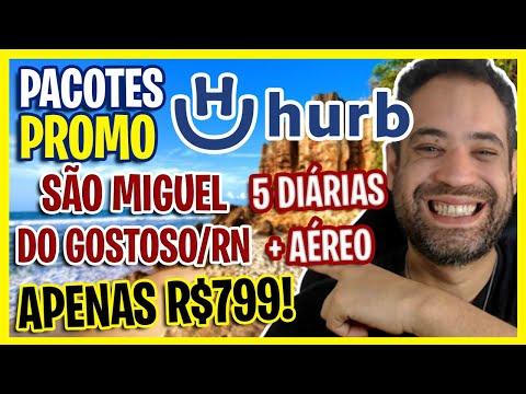 MEGA NOVIDADE! SÃO MIGUEL DO GOSTOSO RN COM AÉREO + 5 DIÁRIAS!