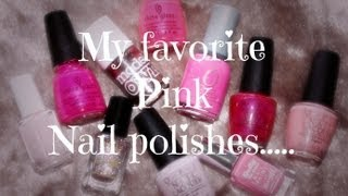 Pink Nail Polish Favorites