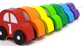 Best Learning Compilation Video for Kids: Learn Colors & Counting with Preschool Toy Cars!