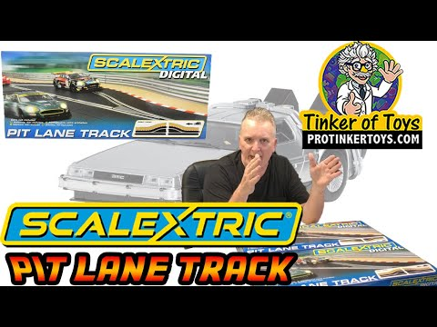 Pit Lane Track (Left Hand/Right Hand) – Includes Sensor | C7014/C7015| Scalextric