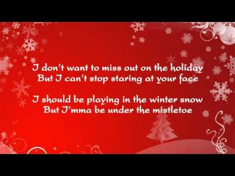 Justin Bieber Mistletoe - Christmas Song with Lyrics on Screen