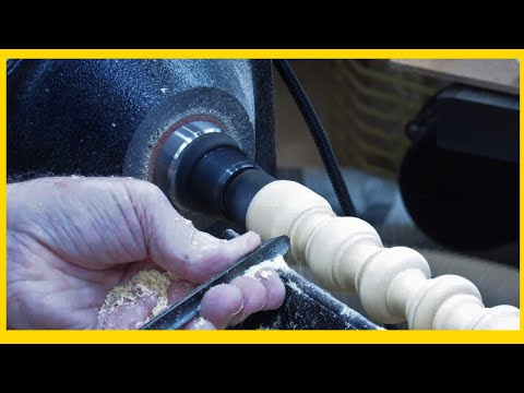 Learning Turning | Beads And Coves Sticks