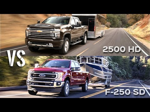 2020 Chevrolet Silverado 2500 HD High Country vs Ford F-250 King Ranch