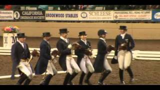 World Class Dressage Stick Horse Quadrille 2011