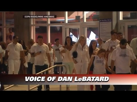 June 18, 2013 - ESPN - 2013 Finals Game 06(Heat Vs. Spurs)-Fans Leave Early,NBA Raises Yellow Rope