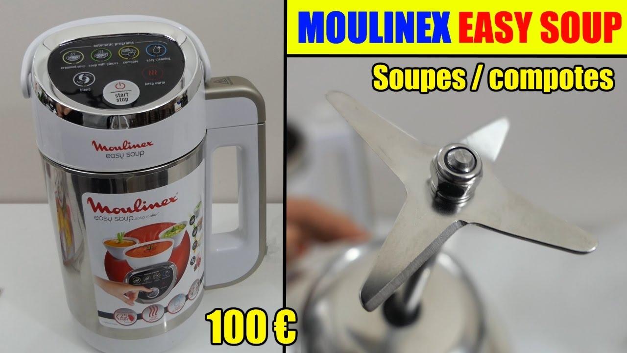 moulinex easy soup soupière électrique blender chauffant