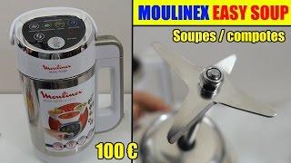 moulinex easy soup soupière électrique blender chauffant soupes smoothies compotes