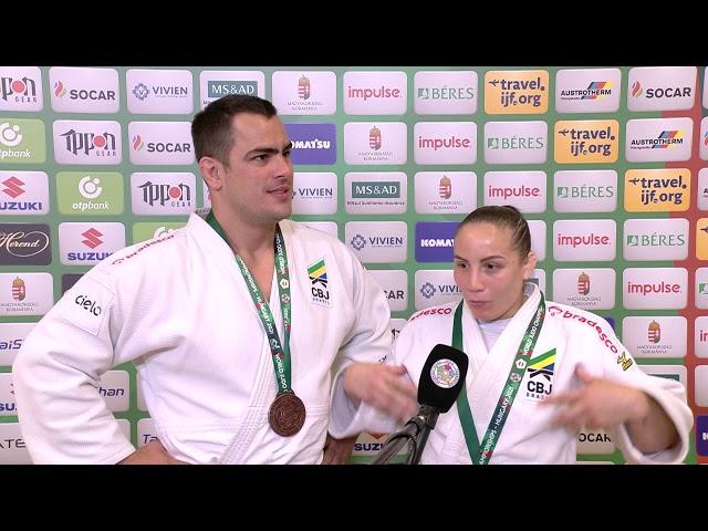 2021 #JudoWorlds Mixed Team - Brazil